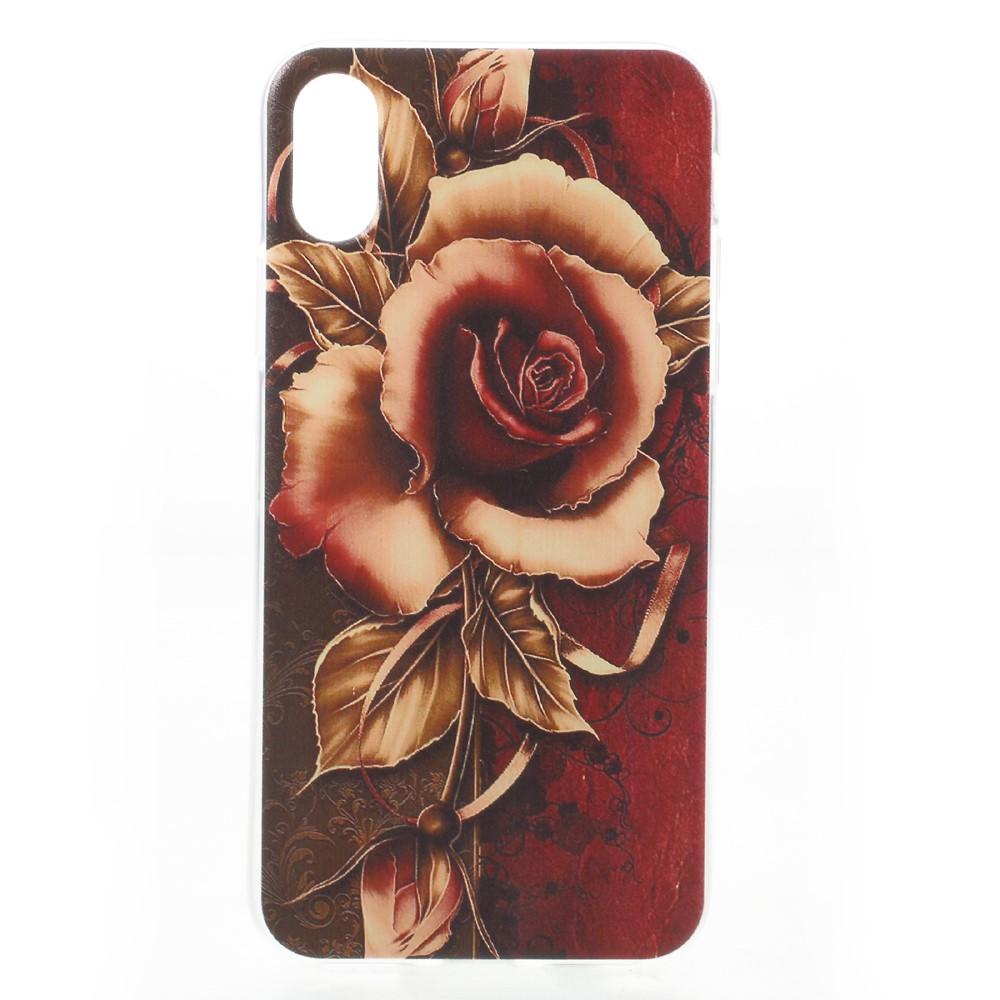 Apple iPhone X inCover TPU UV Print Cover - Rose