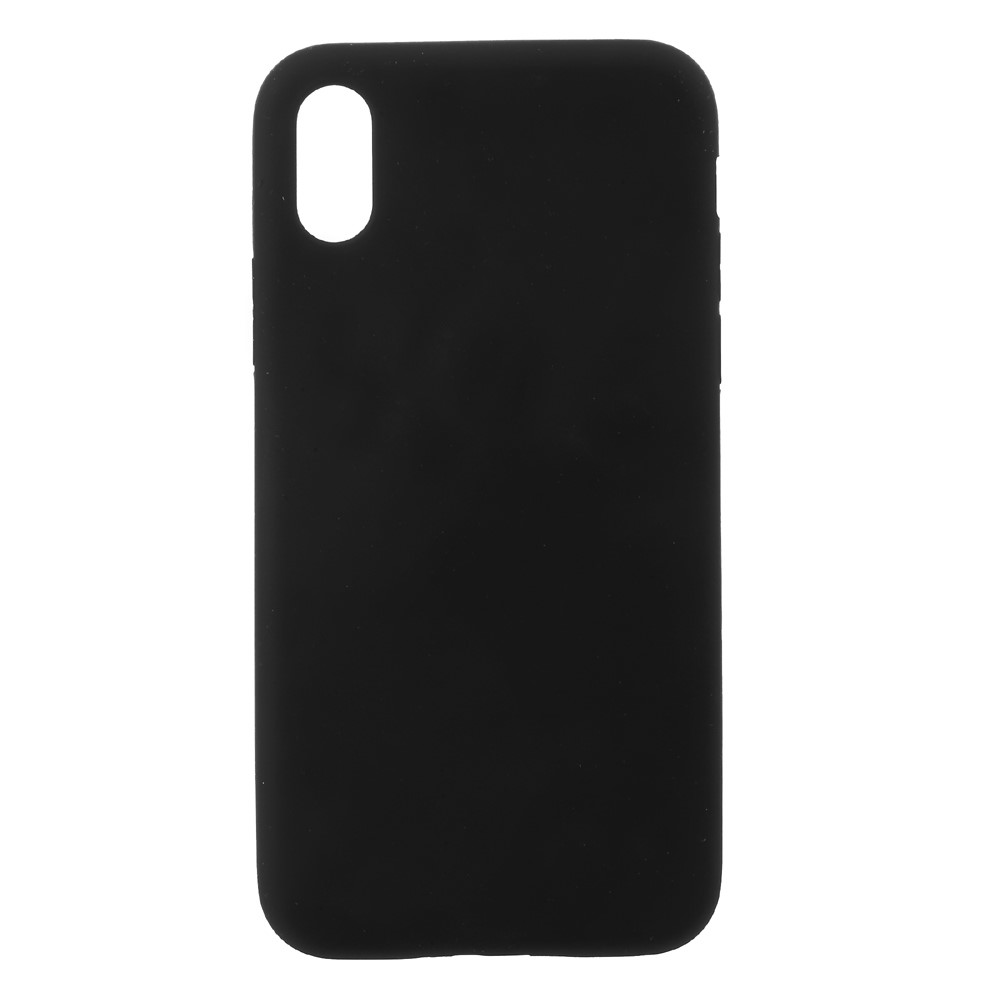 Image of   Apple iPhone X/XS Silikone Cover - Sort