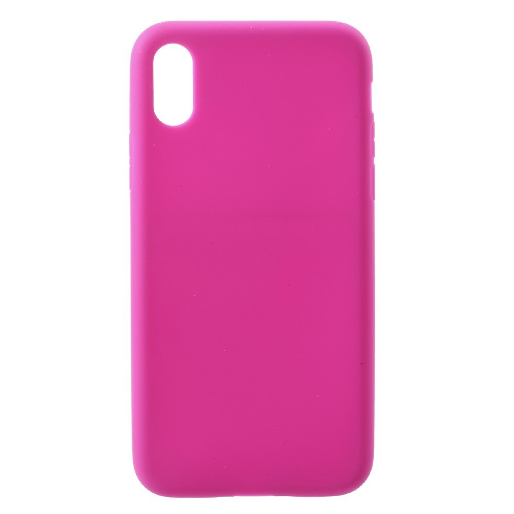Image of   Apple iPhone X/XS Silikone Cover - Pink