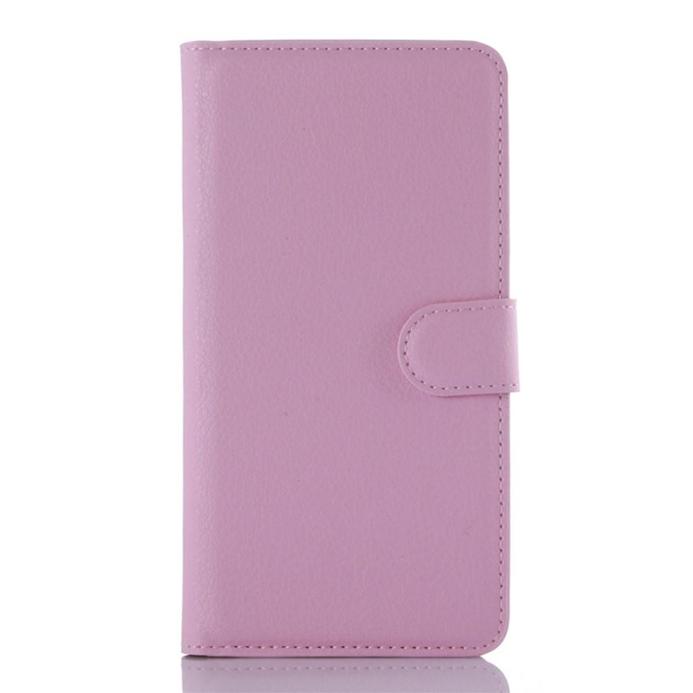 Billede af Samsung Galaxy A7 (2016) Læder Flip Cover m. Kortholder - Pink