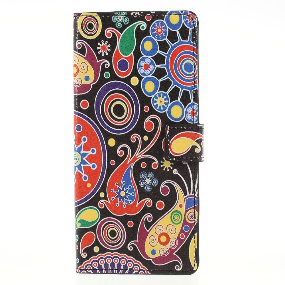Image of   Samsung Galaxy Note 8 PU læder Flipcover m. Kortholder - Ancient Pattern
