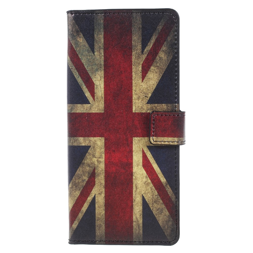 Image of   Samsung Galaxy Note 8 PU læder Flipcover m. Kortholder - UK Flag