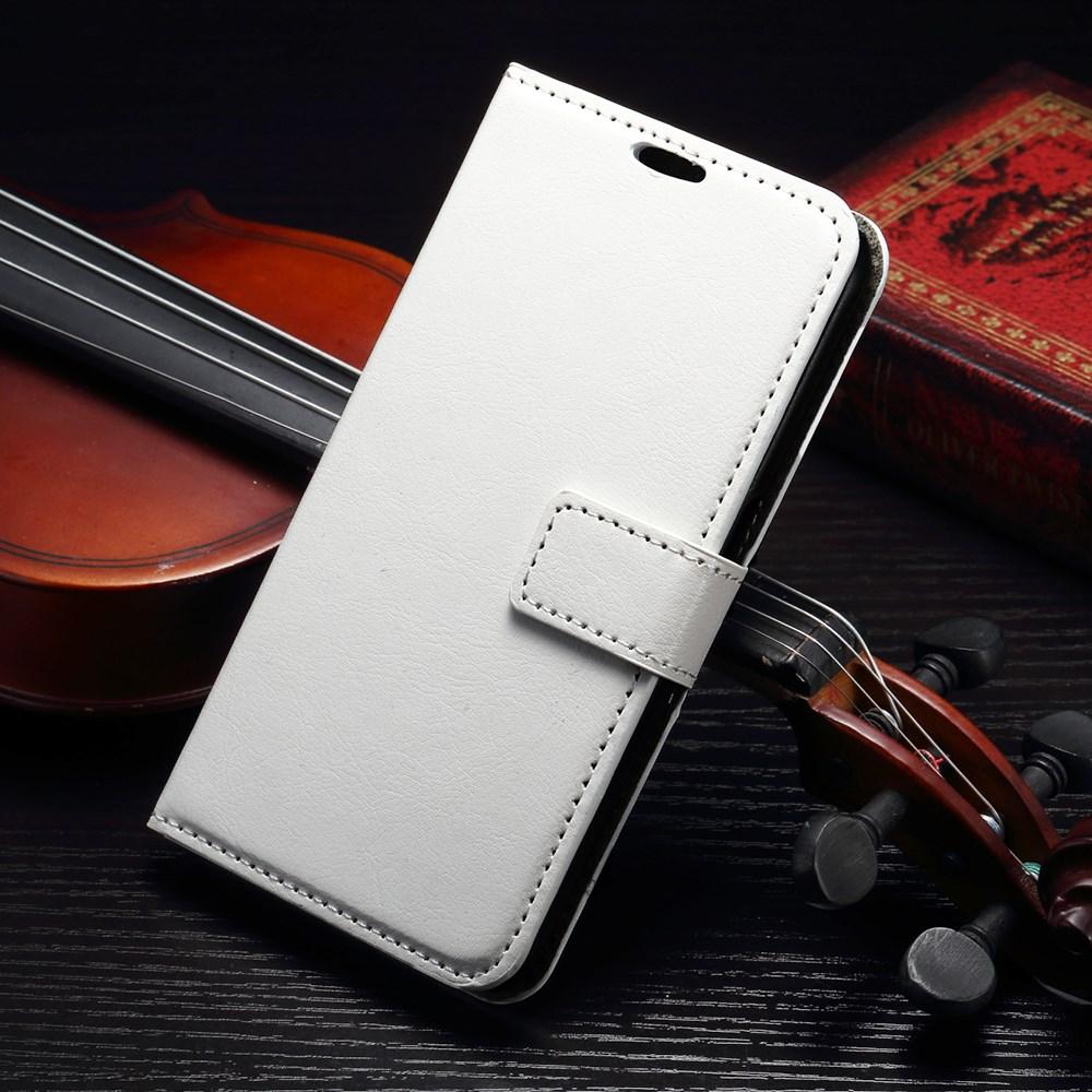Billede af Samsung Galaxy S7 Edge Smart Flip Cover m. stand og kortholder - Hvid