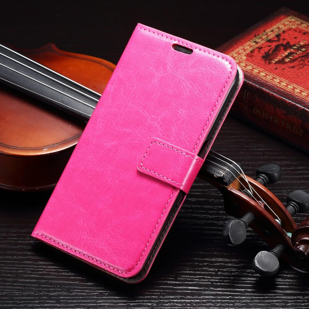 Billede af Samsung Galaxy S7 Edge Smart Flip Cover m. stand og kortholder - Pink