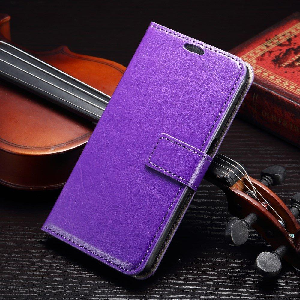 Billede af Samsung Galaxy S7 Edge Smart Flip Cover m. stand og kortholder - Lilla