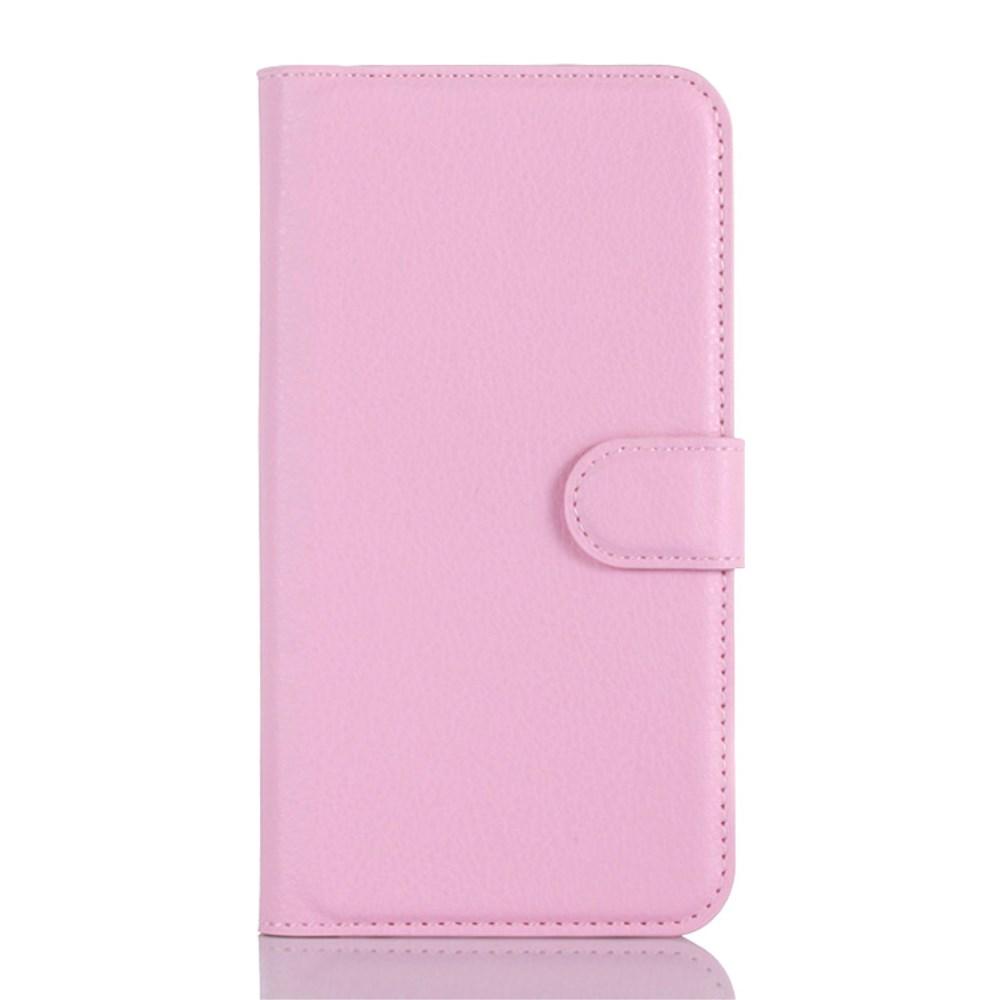 Billede af Samsung Galaxy A3 (2016) Læder Flip Cover m. Kortholder - Pink