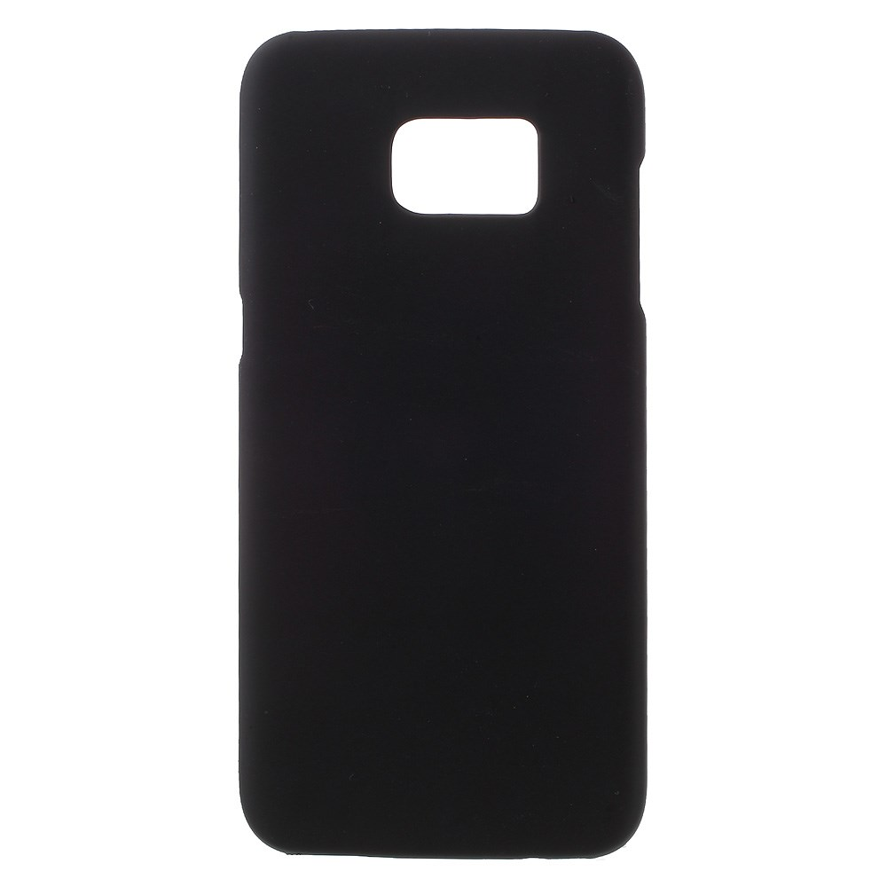 Billede af Samsung Galaxy S7 Edge Rubberized Plastik Cover - Sort