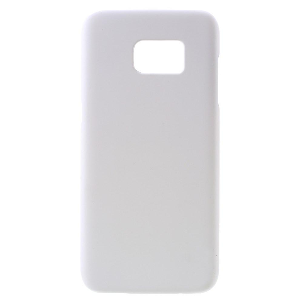 Billede af Samsung Galaxy S7 Edge Rubberized Plastik Cover - Hvid