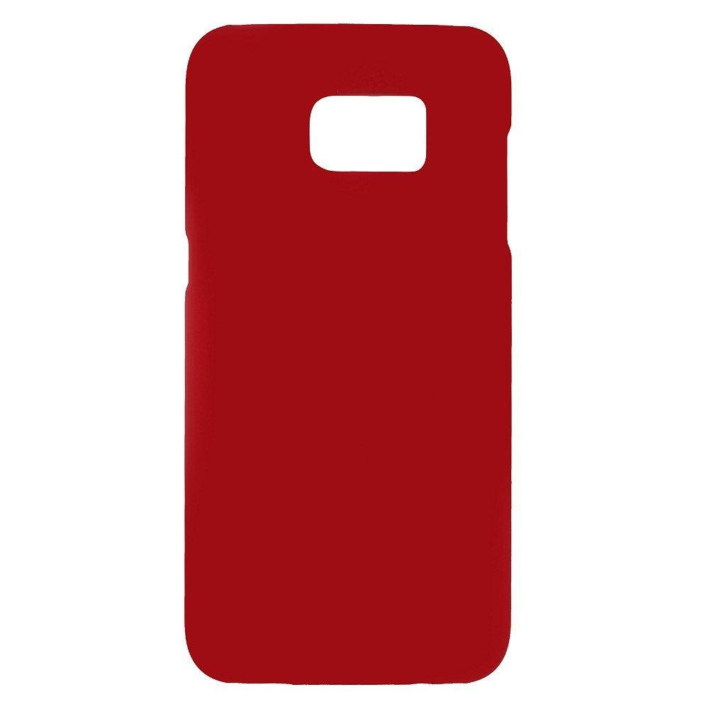 Billede af Samsung Galaxy S7 Edge Rubberized Plastik Cover - Rød