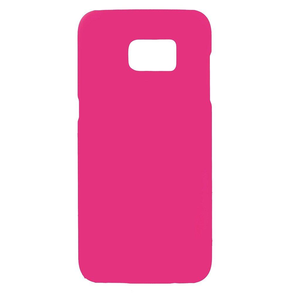 Billede af Samsung Galaxy S7 Edge Rubberized Plastik Cover - Lyserød