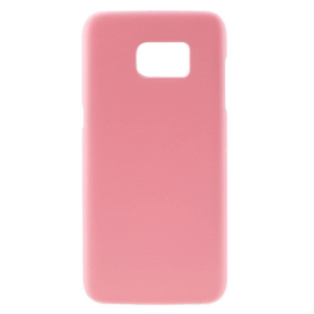 Billede af Samsung Galaxy S7 Edge Rubberized Plastik Cover - Pink