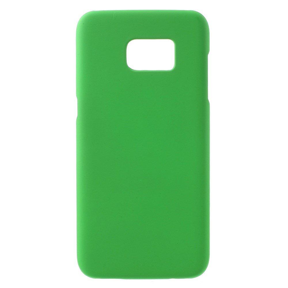 Billede af Samsung Galaxy S7 Edge Rubberized Plastik Cover - Grøn