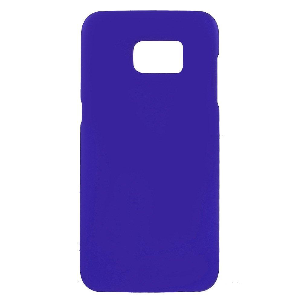 Billede af Samsung Galaxy S7 Edge Rubberized Plastik Cover - Blå