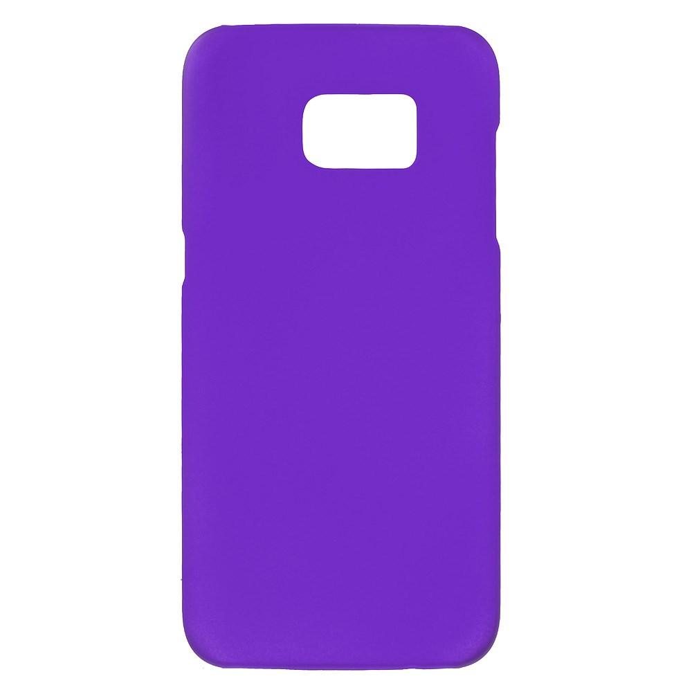 Billede af Samsung Galaxy S7 Edge Rubberized Plastik Cover - Lilla