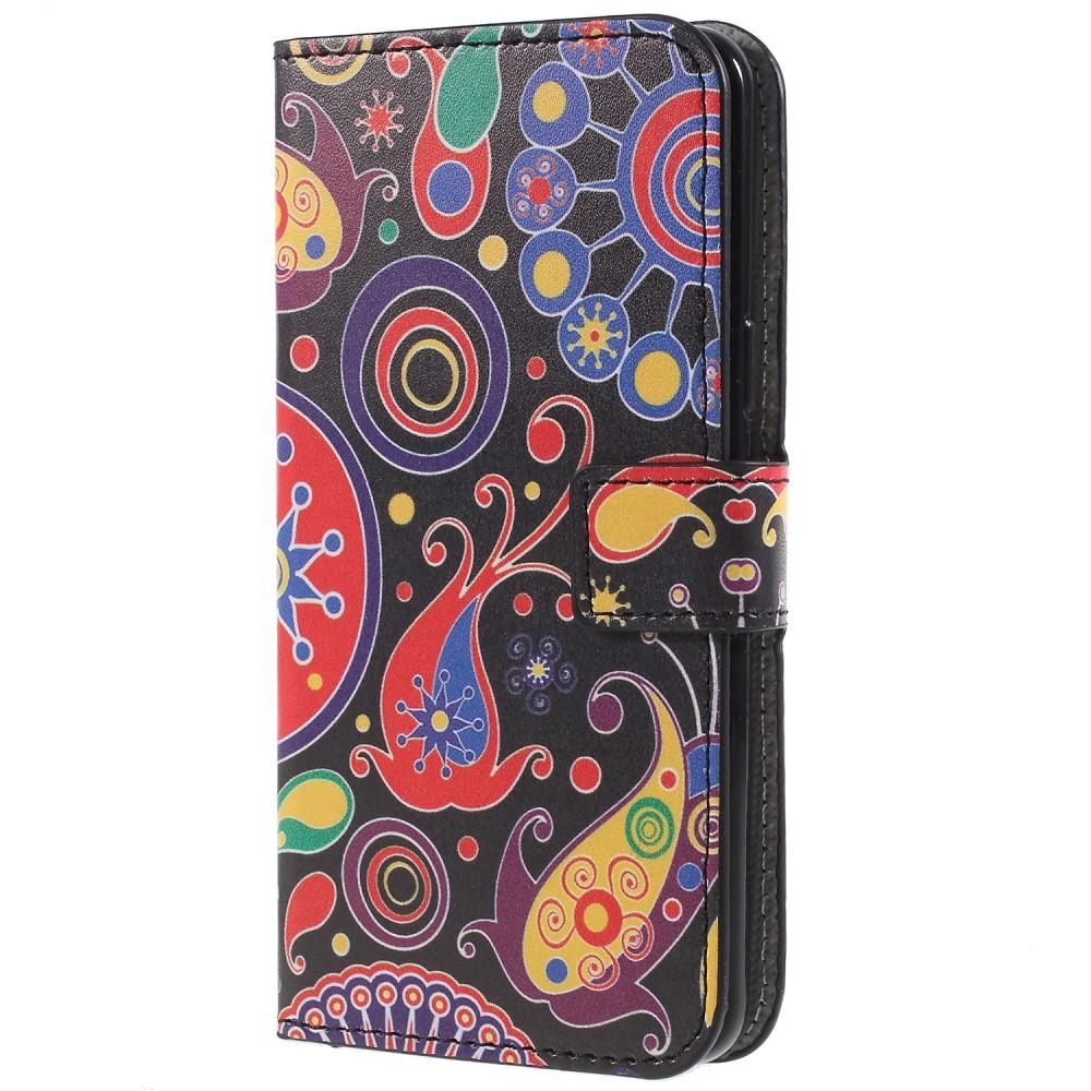 Billede af Samsung Galaxy S9 PU læder Flipcover m. Kortholder - Abstrakt Mønster