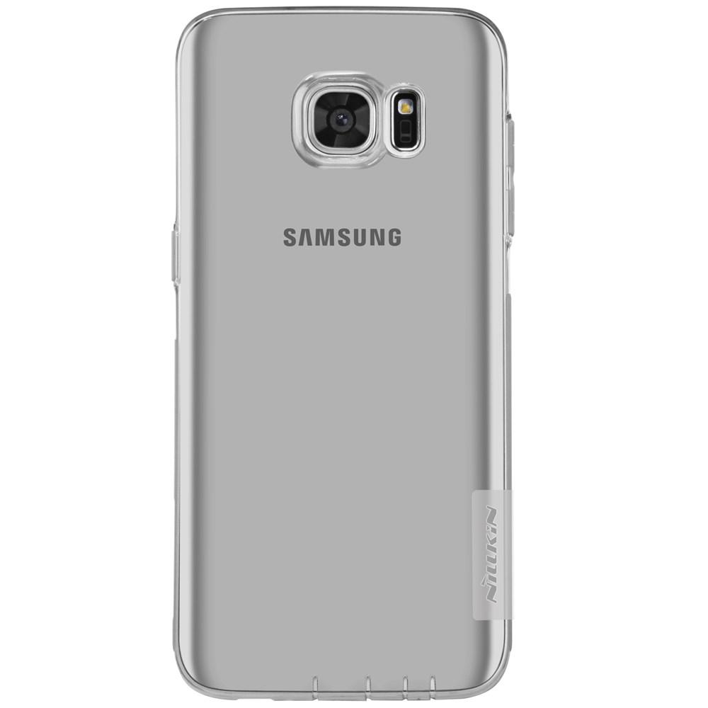 Billede af Samsung Galaxy S7 Edge Nillkin Nature Slim TPU Cover - Grå