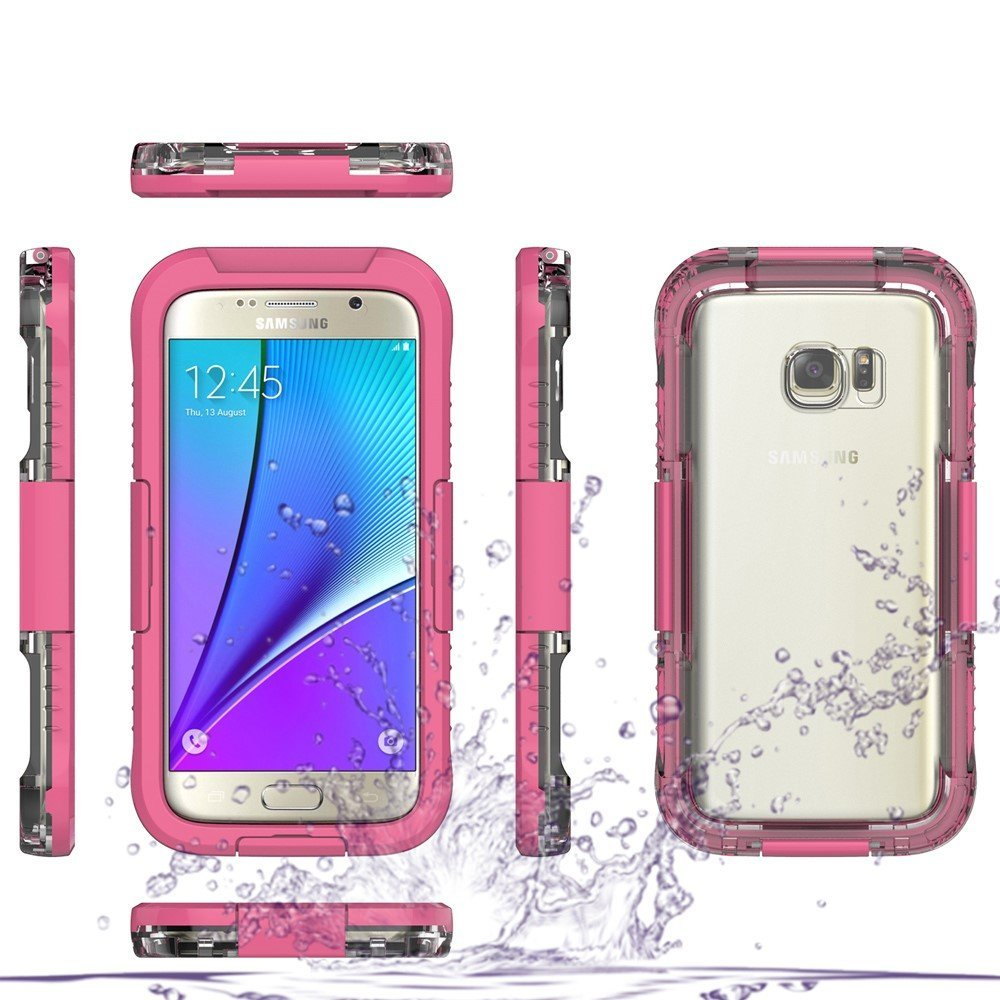 Image of   Samsung Galaxy S7 InCover Vandtæt Cover - Pink