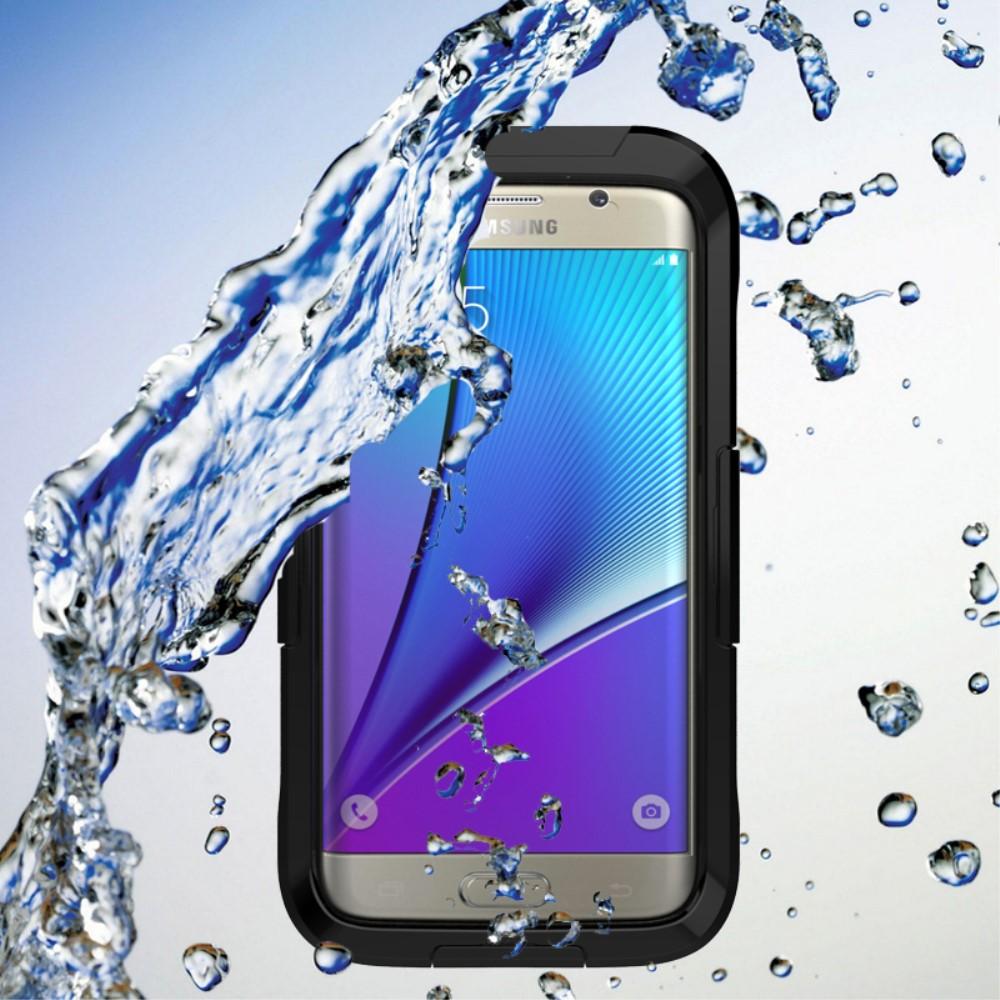 Image of   Samsung Galaxy S7 Edge Vandtæt Cover - Sort