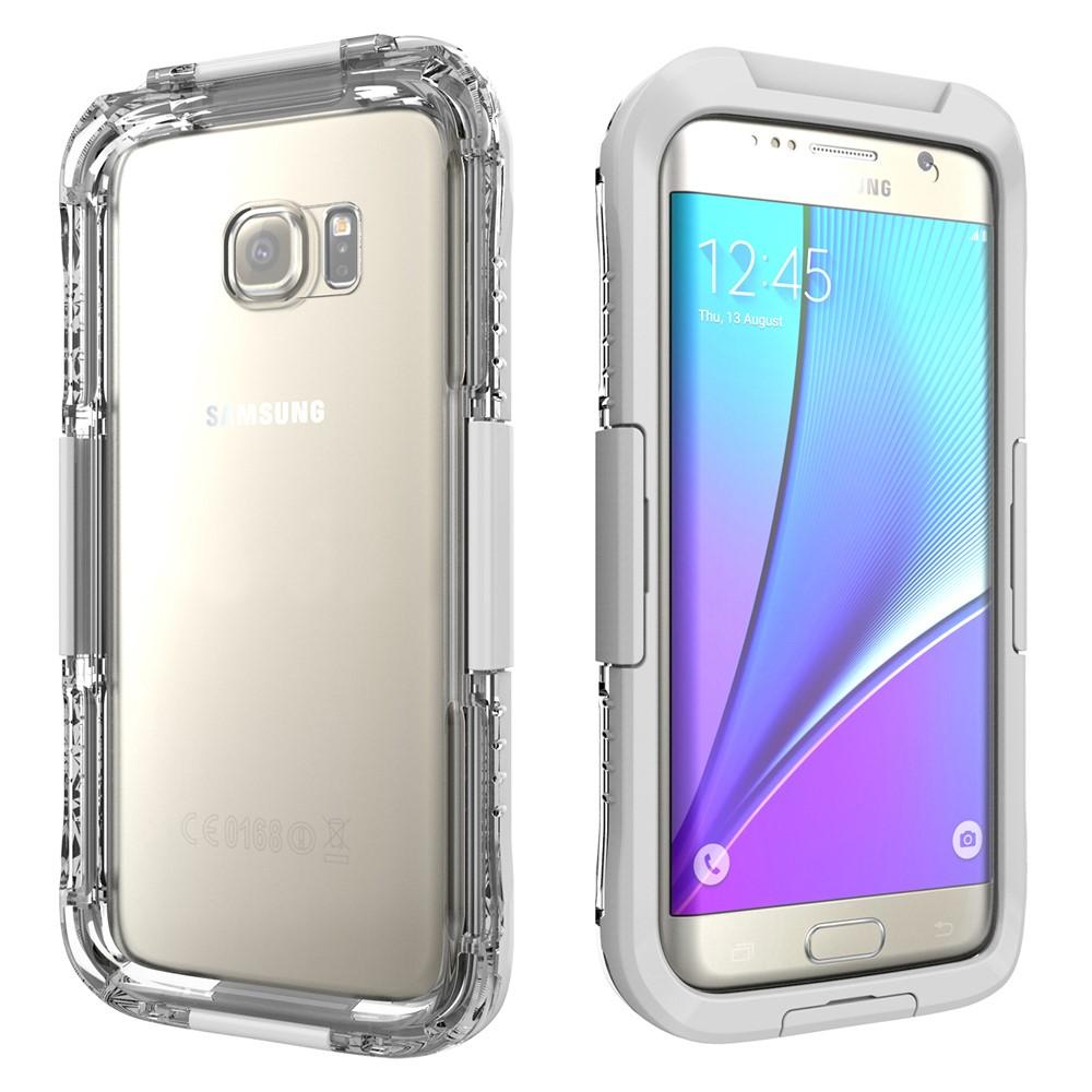 Image of Samsung Galaxy S7 Edge InCover Vandtæt Cover - Hvid