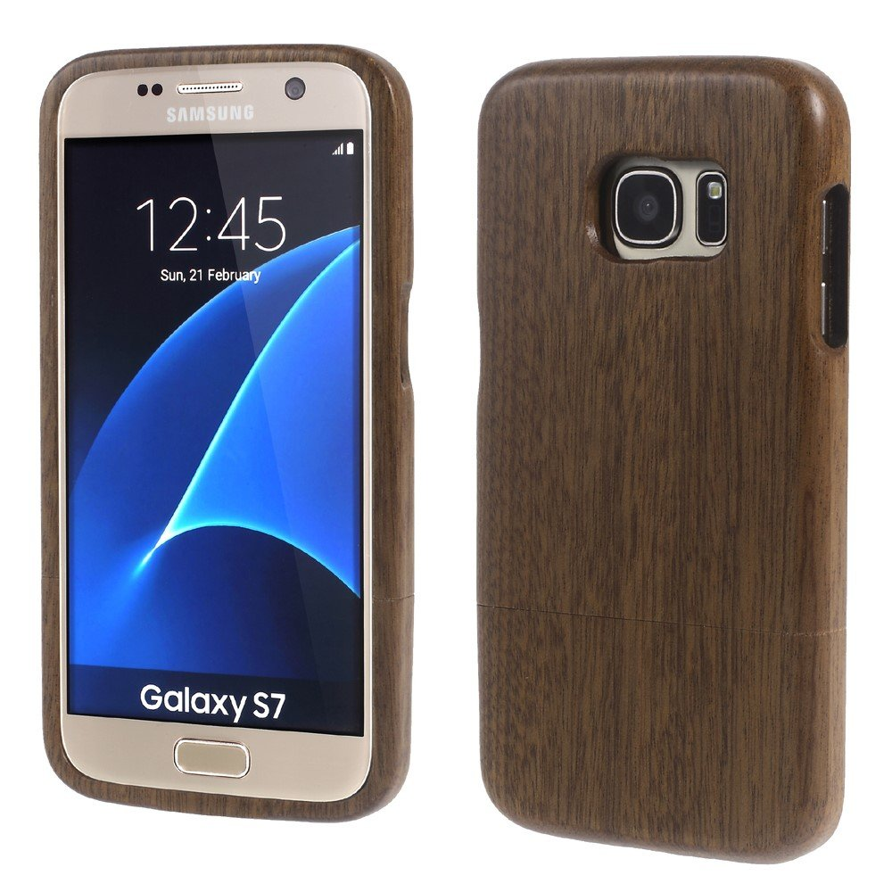Image of Samsung Galaxy S7 InCover Træ Cover - Lys brun