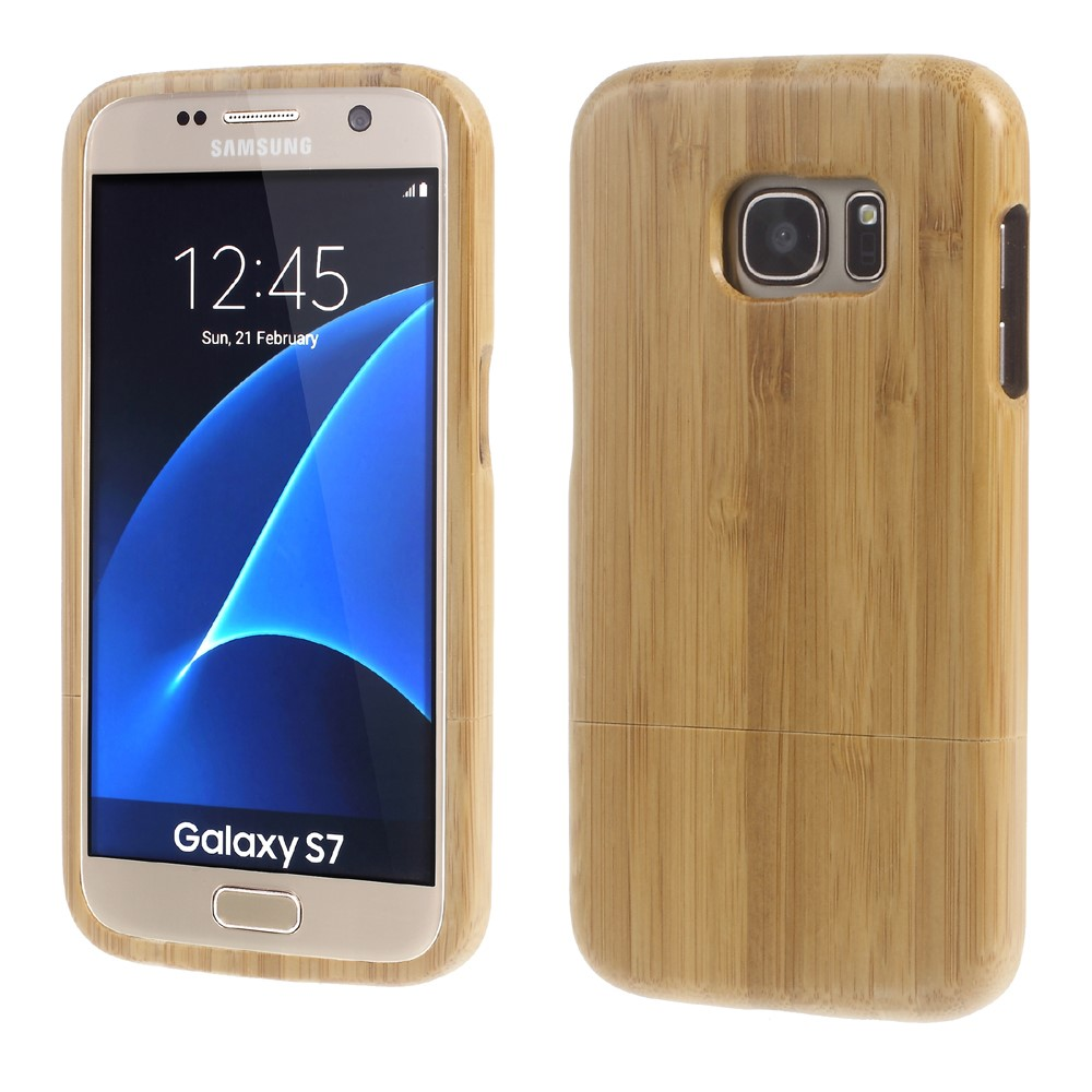 Image of Samsung Galaxy S7 InCover Træ Cover - Khaki