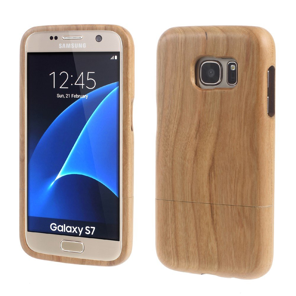 Image of Samsung Galaxy S7 InCover Træ Cover - Beige