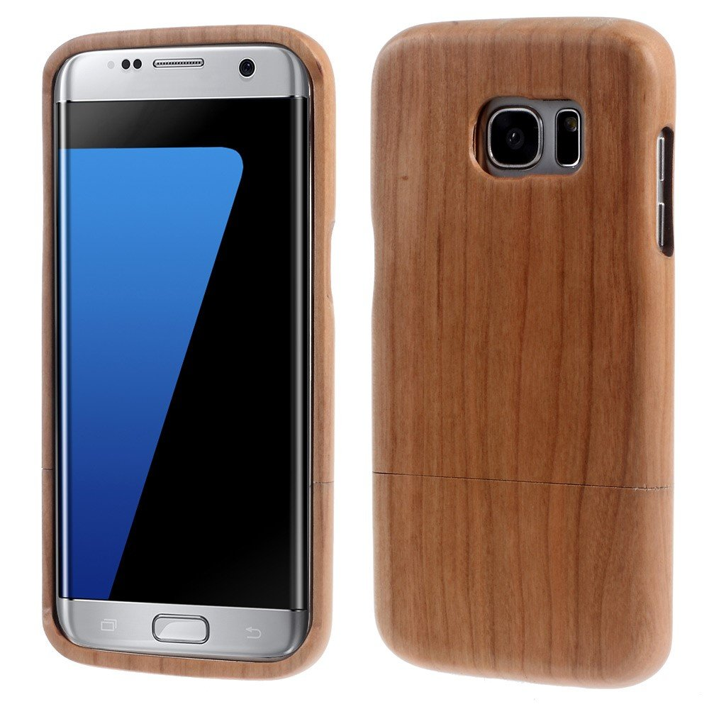 Image of Samsung Galaxy S7 Edge InCover Træ Cover - Beige