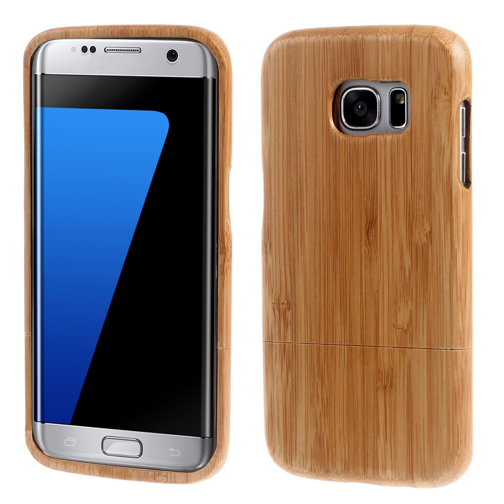 Image of Samsung Galaxy S7 Edge InCover Træ Cover - Khaki