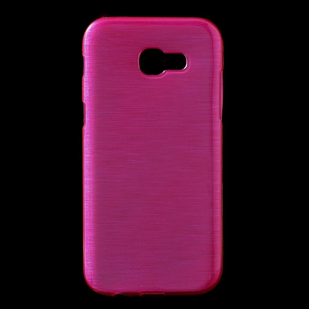 Image of   Samsung Galaxy A3 (2017) InCover Børstet TPU Cover - Rosa