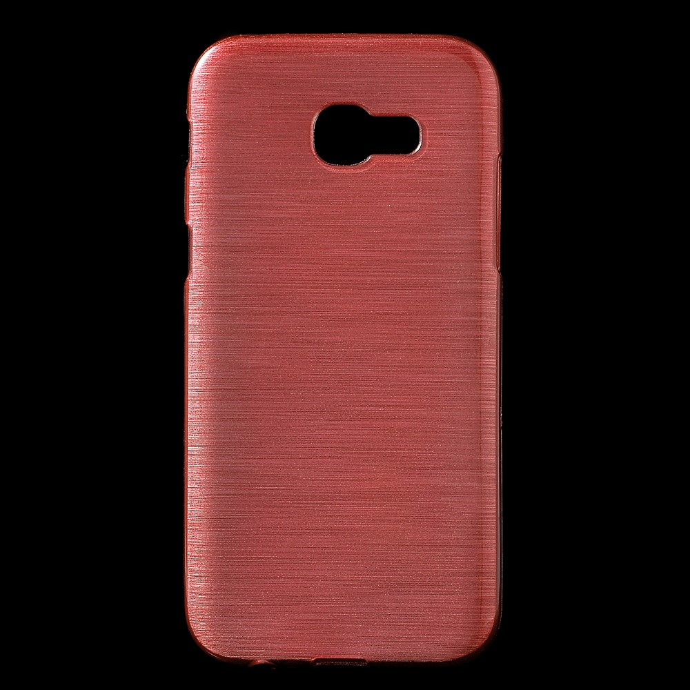 Image of   Samsung Galaxy A3 (2017) InCover Børstet TPU Cover - Pink