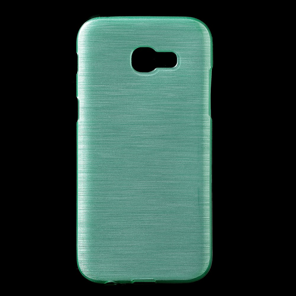 Image of   Samsung Galaxy A3 (2017) InCover Børstet TPU Cover - Cyan