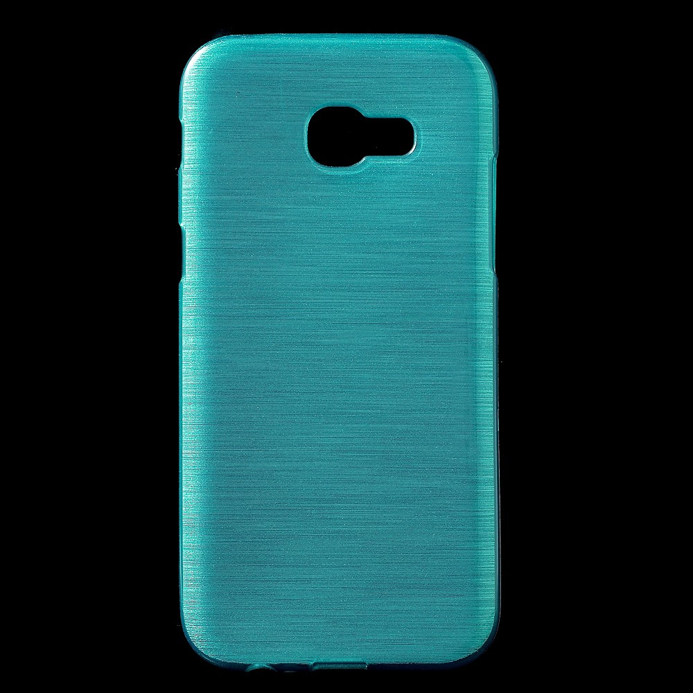 Image of   Samsung Galaxy A3 (2017) InCover Børstet TPU Cover - Blå