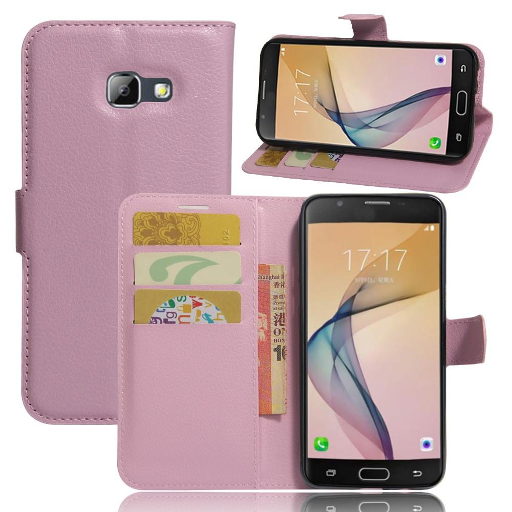 Image of   Samsung Galaxy A5 (2017) PU læder FlipCover m. Kortholder - Pink
