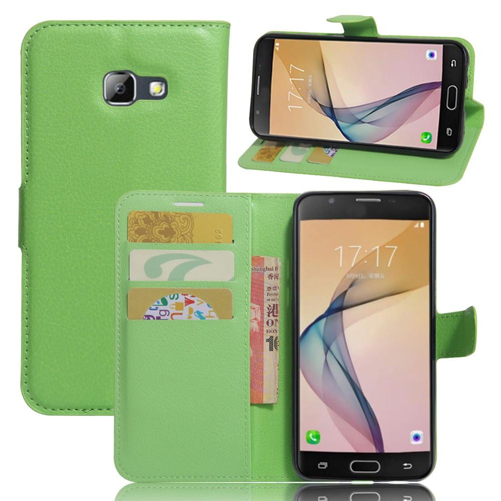 Billede af Samsung Galaxy A5 (2017) PU læder FlipCover m. Kortholder - Grøn
