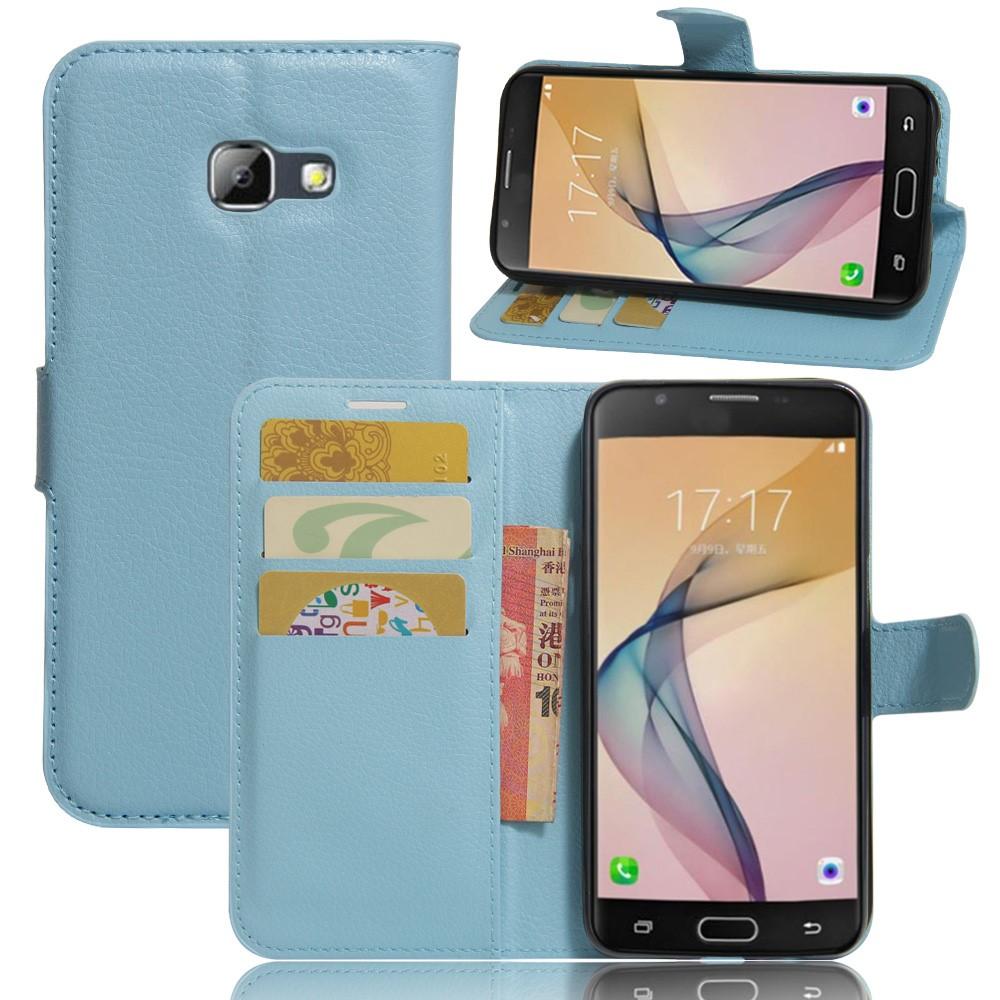 Billede af Samsung Galaxy A5 (2017) PU læder FlipCover m. Kortholder - Blå