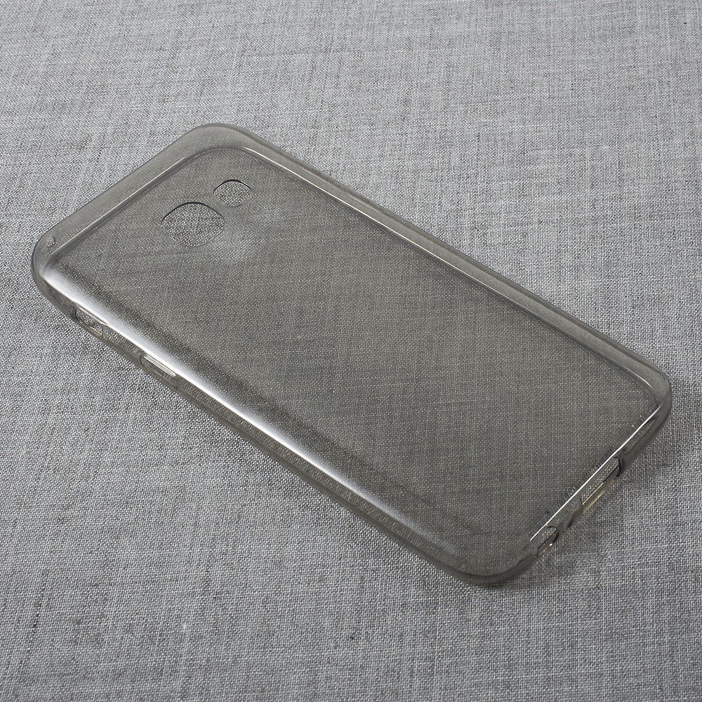 Image of   Samsung Galaxy A3 (2017) InCover TPU Cover - Transparent Grå
