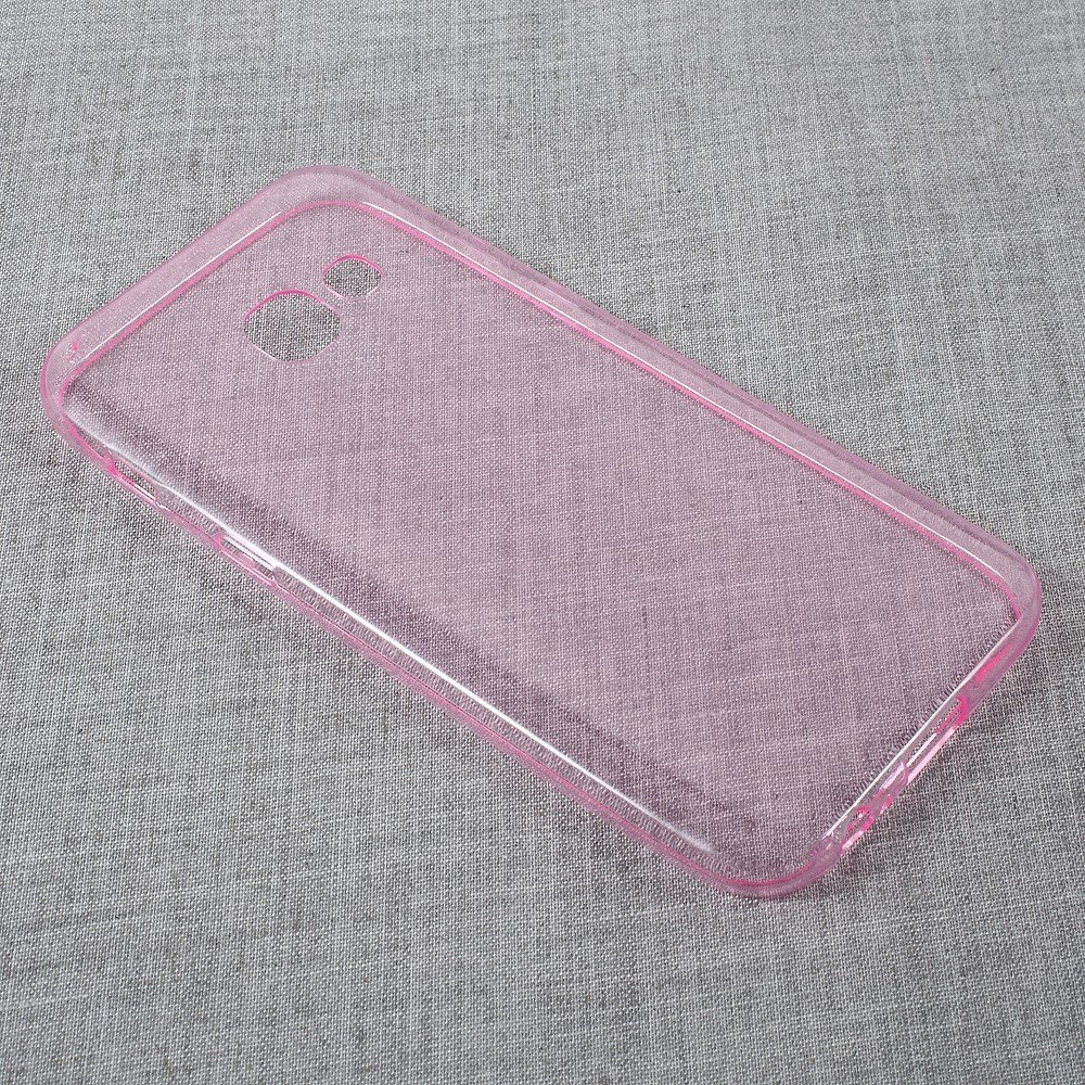Image of   Samsung Galaxy A3 (2017) InCover TPU Cover - Transparent Rosa
