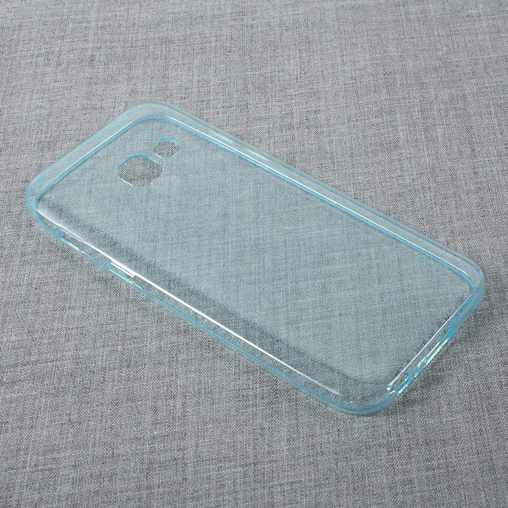 Image of   Samsung Galaxy A3 (2017) InCover TPU Cover - Transparent Cyan