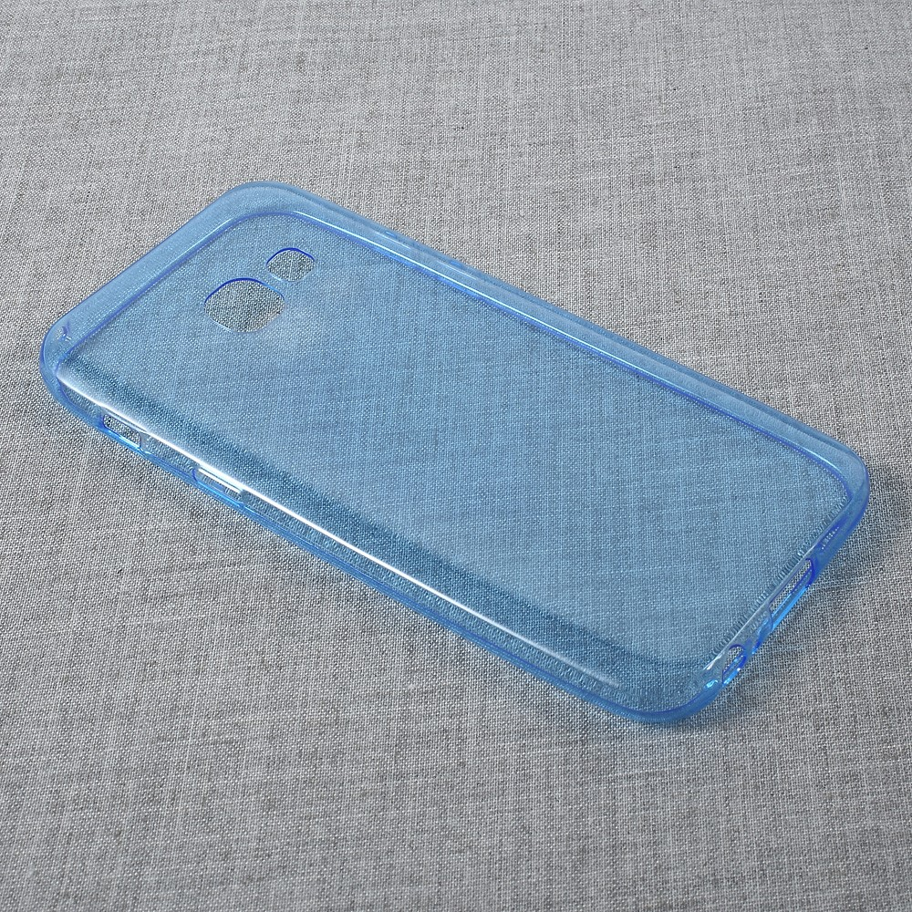Image of   Samsung Galaxy A3 (2017) InCover TPU Cover - Transparent Blå