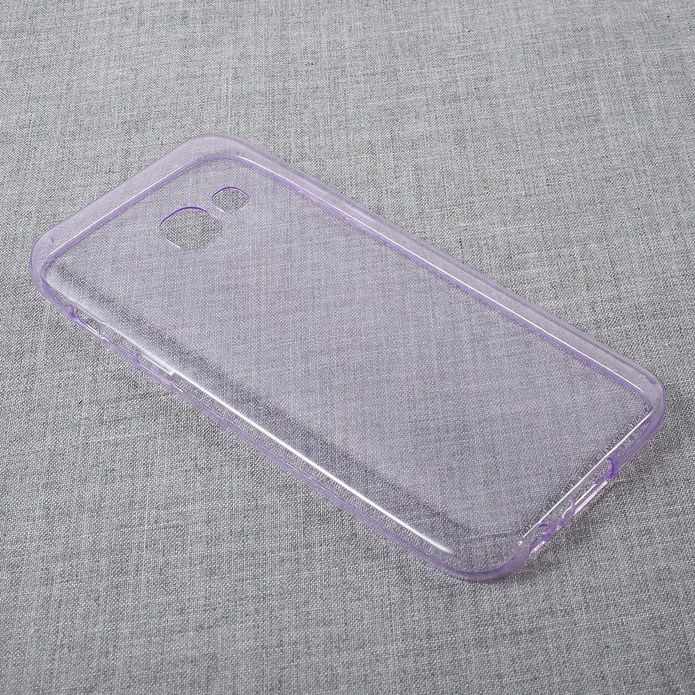 Image of   Samsung Galaxy A3 (2017) InCover TPU Cover - Transparent Lilla