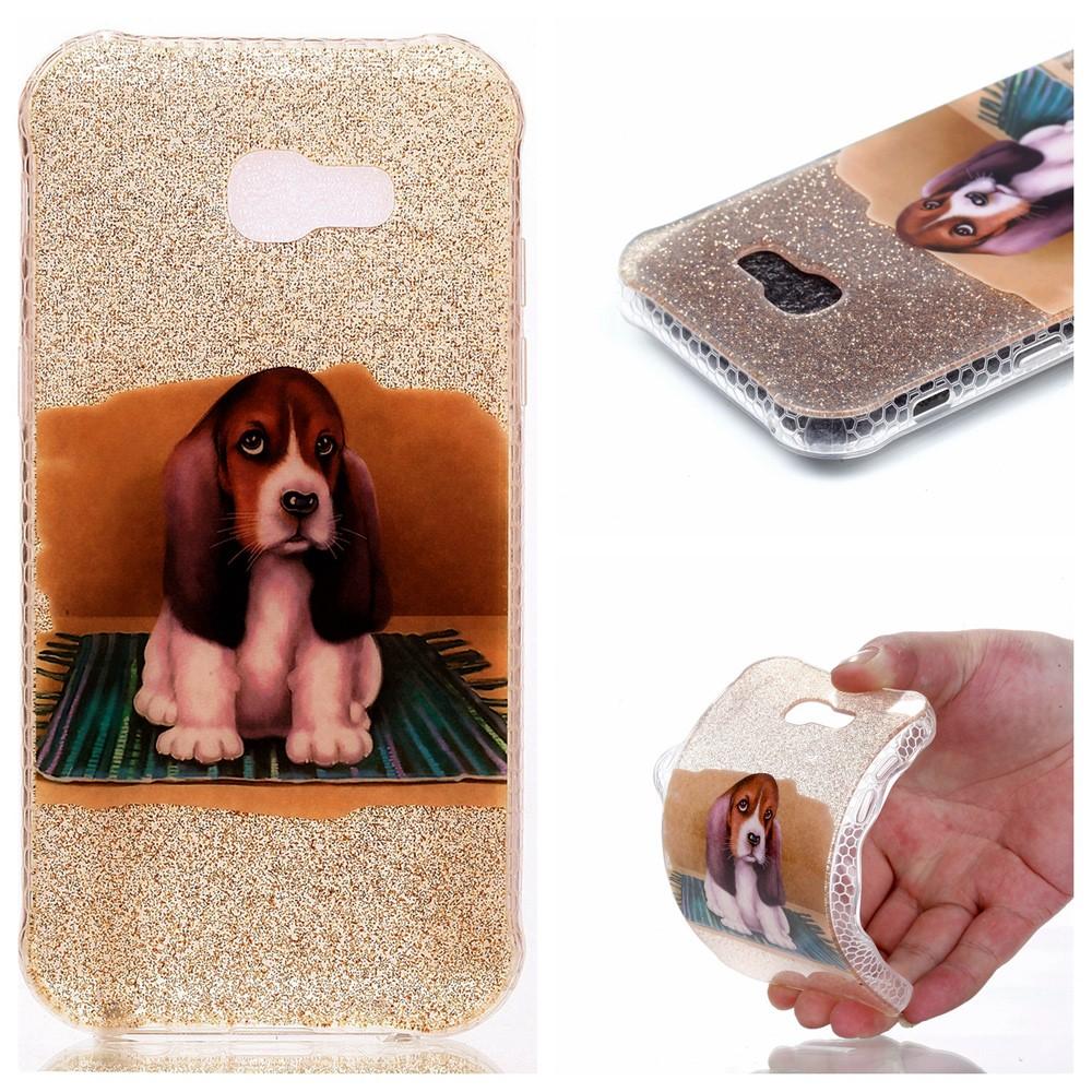 Billede af Samsung Galaxy A5 (2017) InCover Glossy TPU Cover - Cute Dog