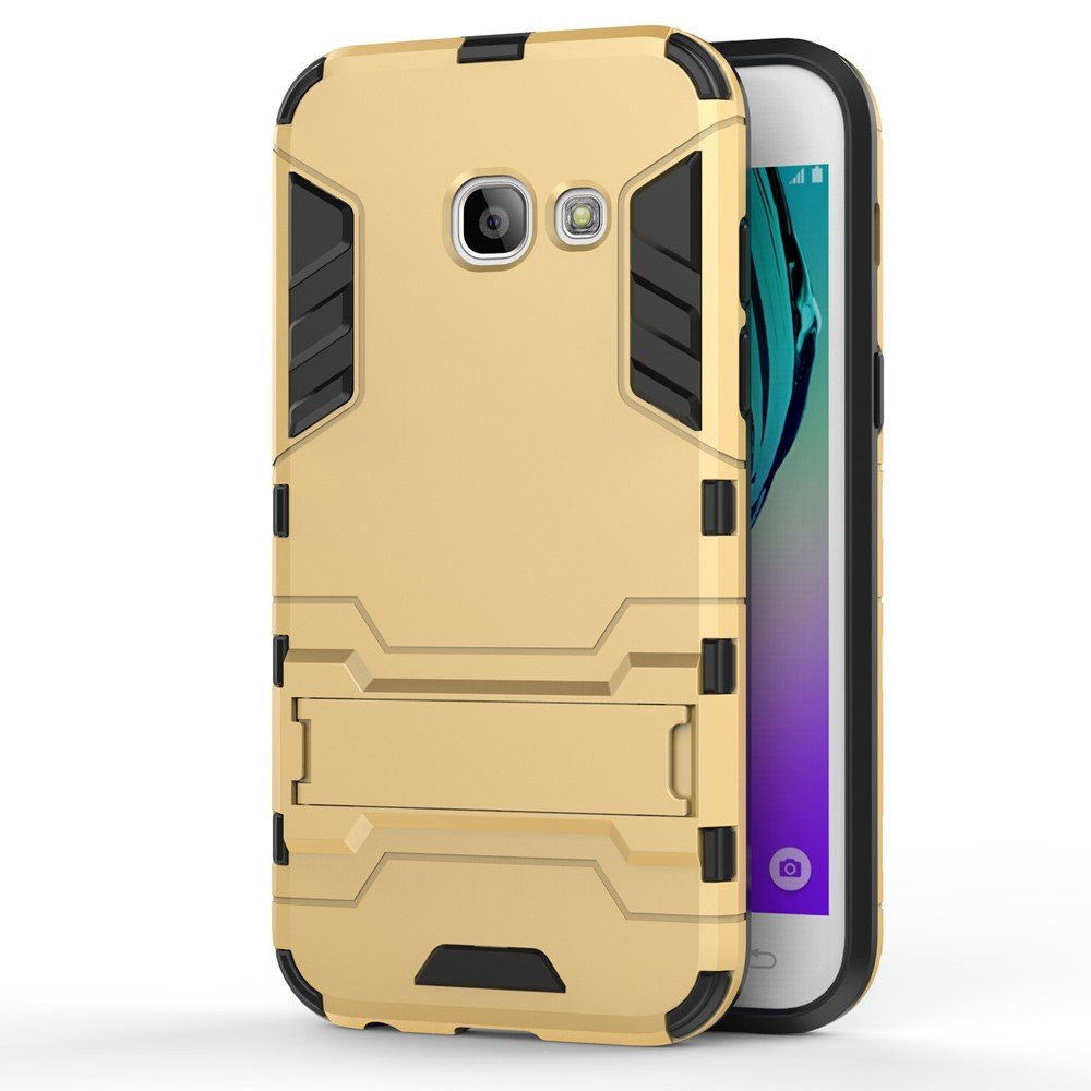 Image of   Samsung Galaxy A3 (2017) InCover TPU Hybrid Cover - Guld