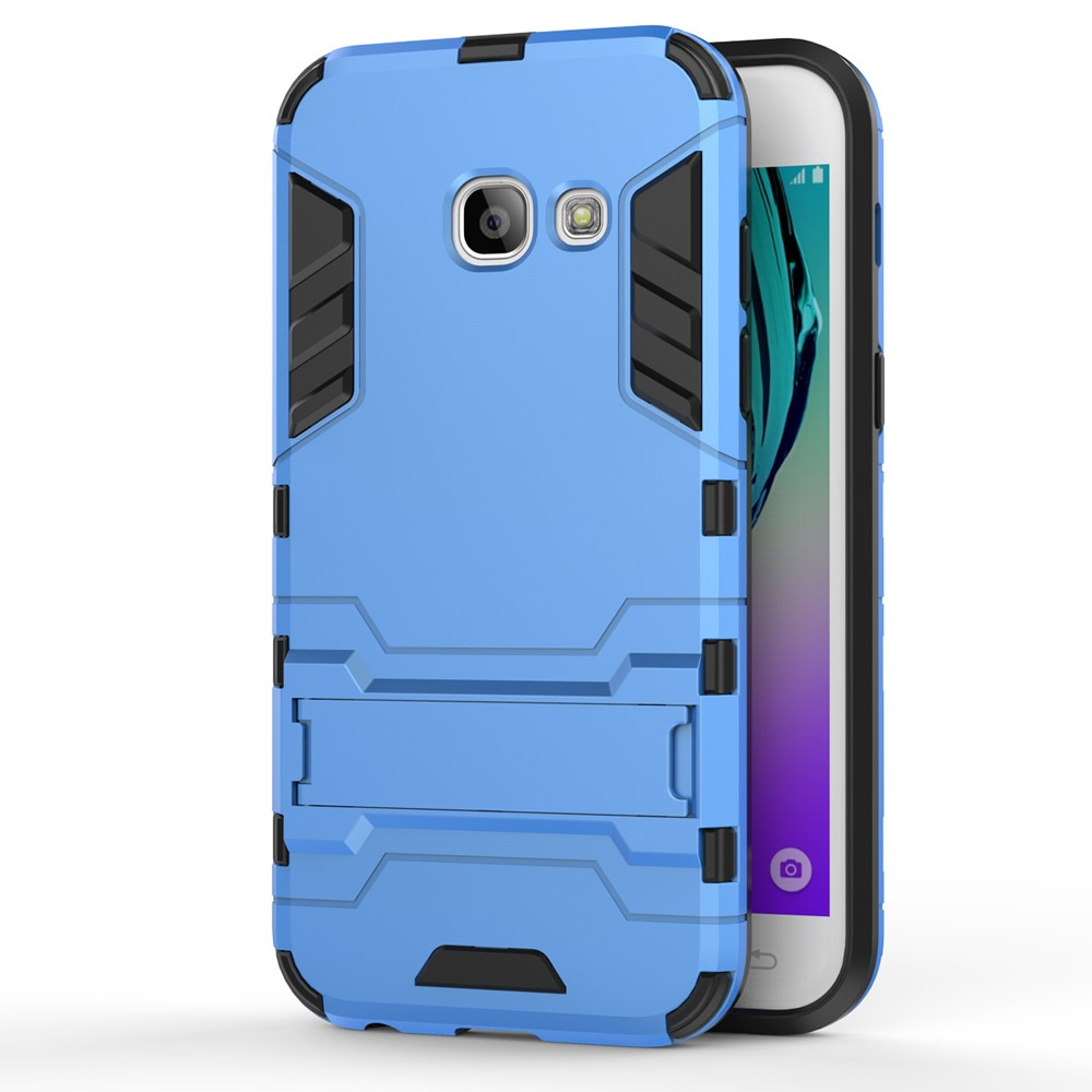 Image of   Samsung Galaxy A3 (2017) InCover TPU Hybrid Cover - Lys Blå