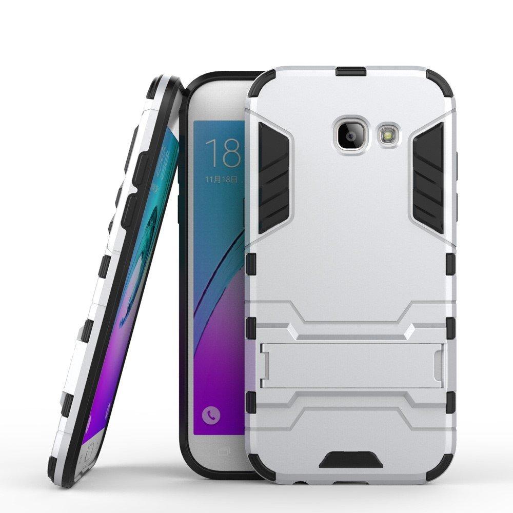Image of   Samsung Galaxy A5 (2017) InCover TPU Hybrid Cover - Sølv