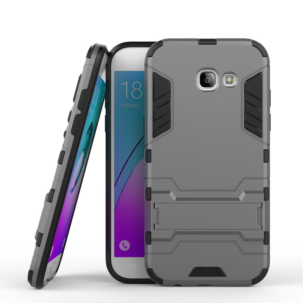 Image of   Samsung Galaxy A5 (2017) InCover TPU Hybrid Cover - Grå