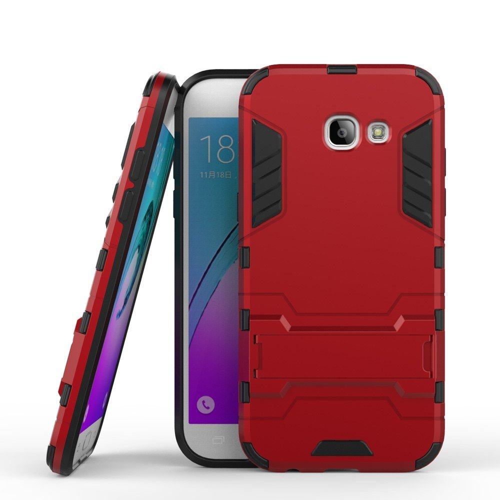 Image of   Samsung Galaxy A5 (2017) InCover TPU Hybrid Cover - Rød