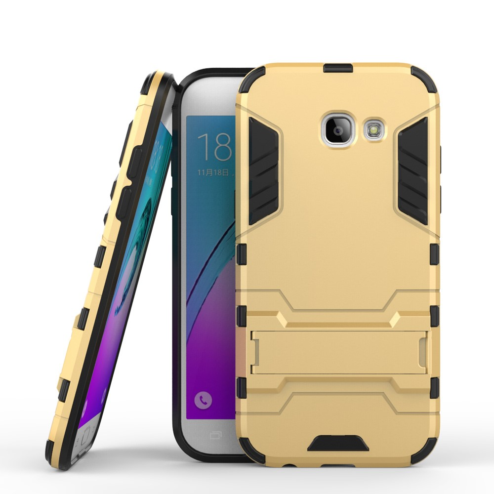 Image of   Samsung Galaxy A5 (2017) InCover TPU Hybrid Cover - Guld