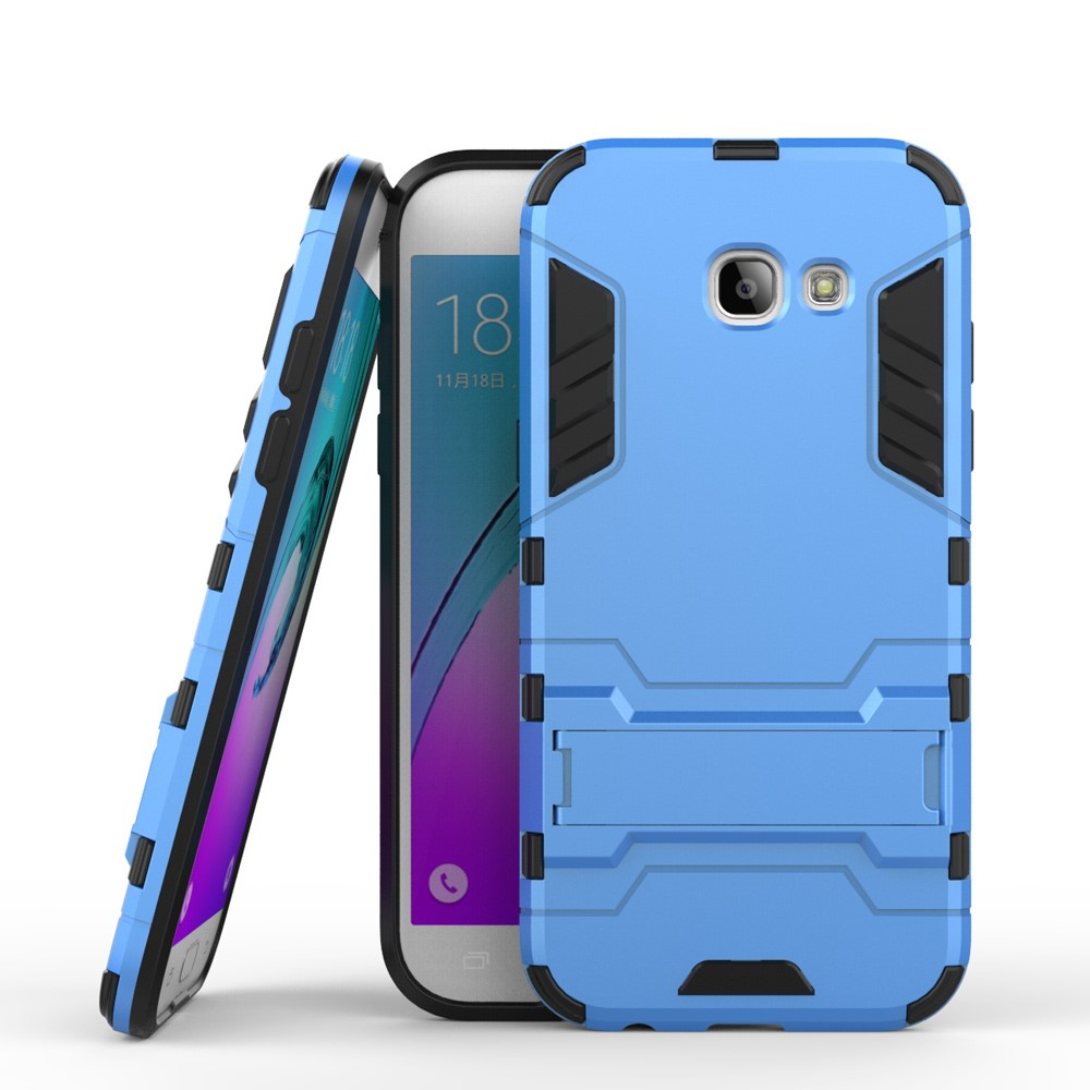 Image of   Samsung Galaxy A5 (2017) InCover TPU Hybrid Cover - Lys Blå