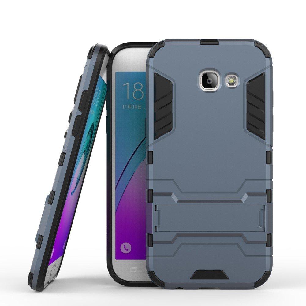 Image of   Samsung Galaxy A5 (2017) InCover TPU Hybrid Cover - Mørk Blå