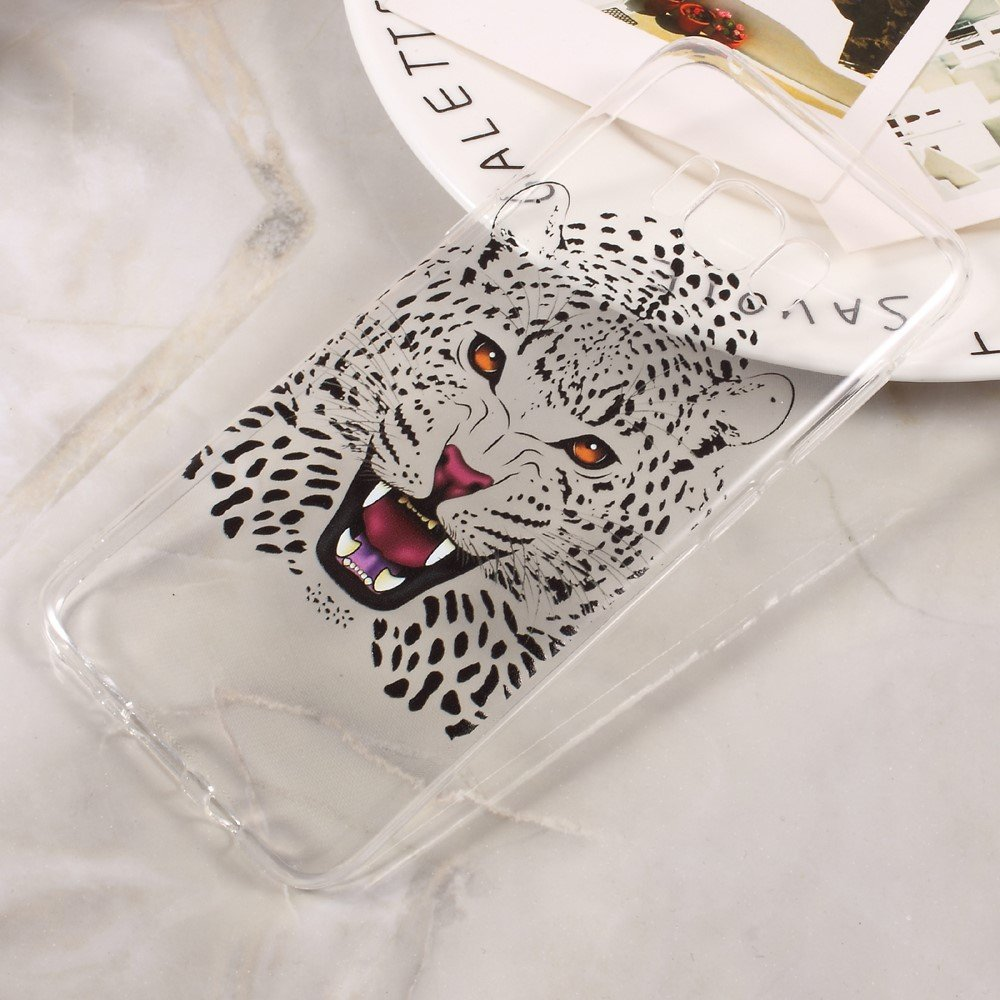 Image of   Samsung Galaxy S8 TPU Cover - Leopard